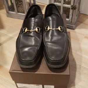 Gucci Men's Vit Bulgaro Horsebit Loafer